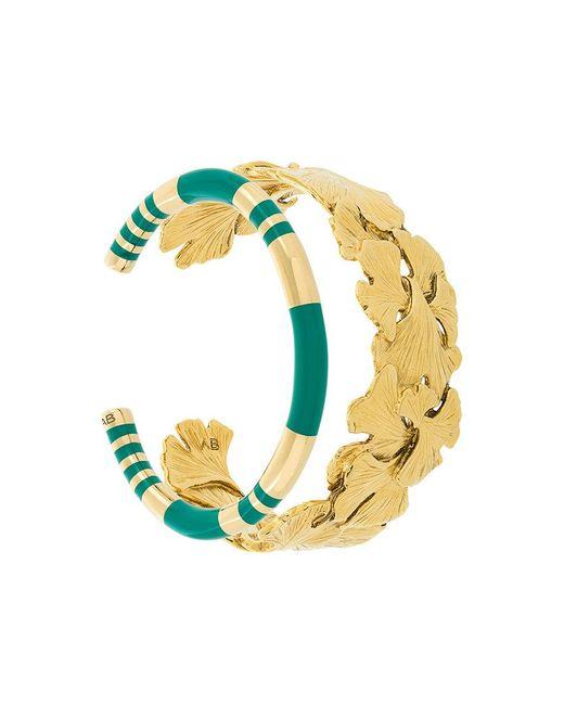 Aurelie Bidermann | Metallic Tangerine And Positano Set Of Bracelets | Lyst