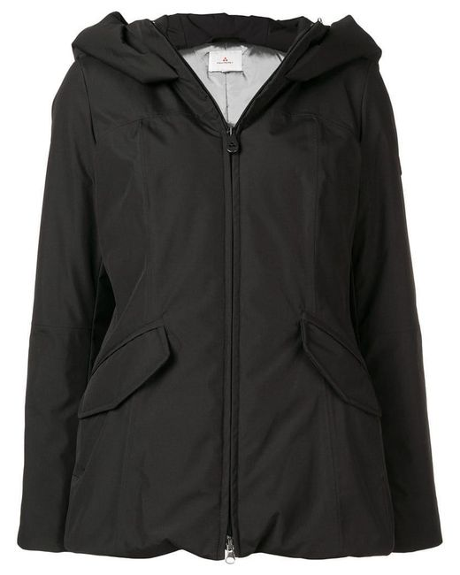 Peuterey - Black Zipped Hooded Jacket - Lyst