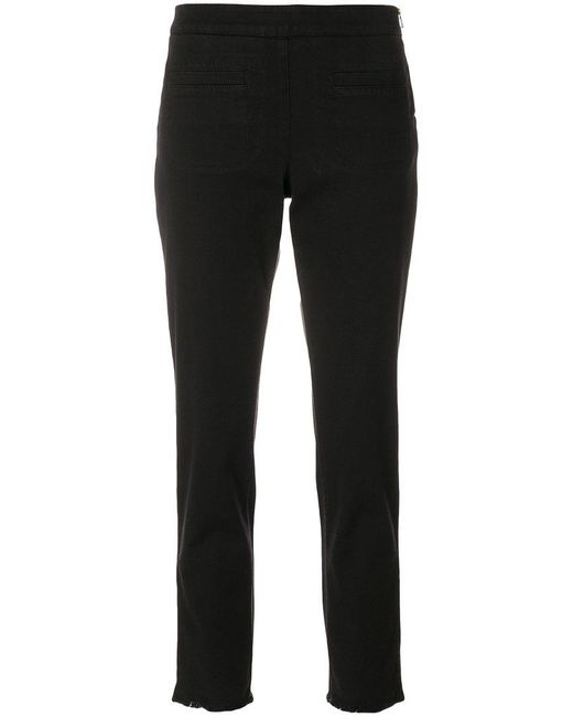 Dorothee Schumacher - Black Front Pockets Trousers for Men - Lyst