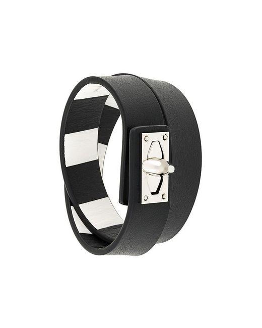 Givenchy | Black 'shark' Bracelet | Lyst