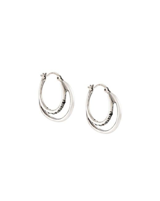 Iosselliani - Metallic 'silver Heritage' Earrings - Lyst