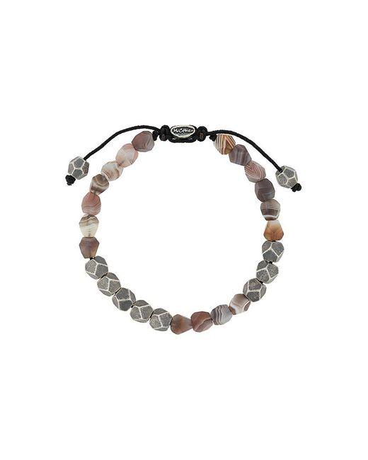M. Cohen - Metallic Deca Beaded Bracelet for Men - Lyst
