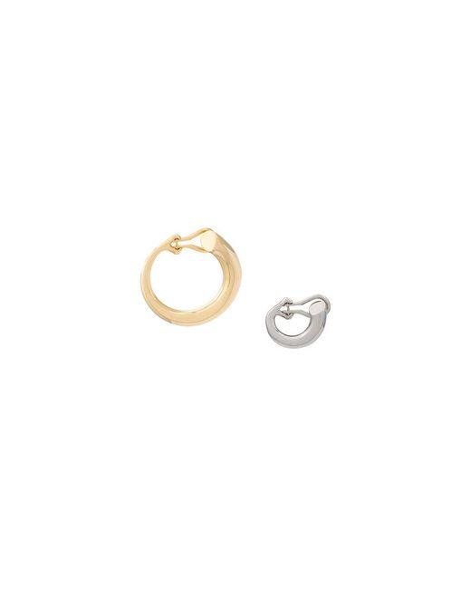 Charlotte Chesnais - Metallic Monie Gold-plated Earrings - Lyst