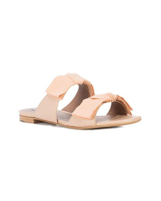 Aclaramiento De Compras En Línea Tabitha Simmons Summer sandals - Pink & Purple farfetch crema Para La Venta En Línea Pre Aclaramiento De La Tienda En Línea Barato Venta En Línea PyzHtMvLV