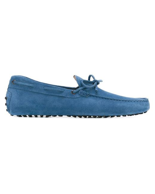 Tod's   Blue 'gommino' Driving Shoes for Men   Lyst