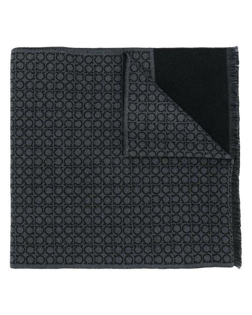 Ferragamo | Gray Branded Scarf for Men | Lyst