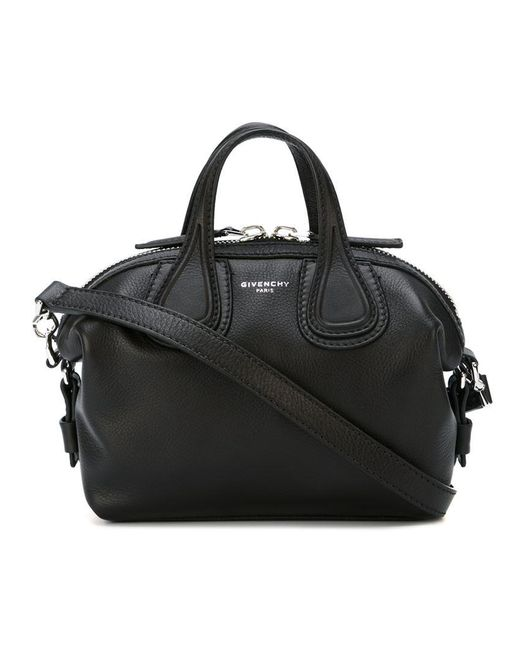 Givenchy | Black Micro Nightingale Tote | Lyst