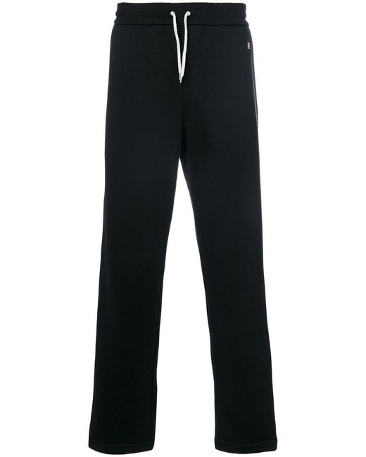 AMI - Black Jogginghose mit Streifen for Men - Lyst