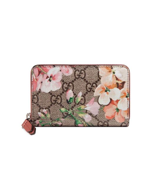 Gucci Pink GG Bloom Wallet