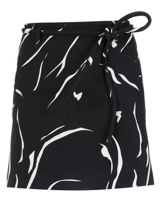 Egrey - Blue Printed Flared Skirt - Lyst