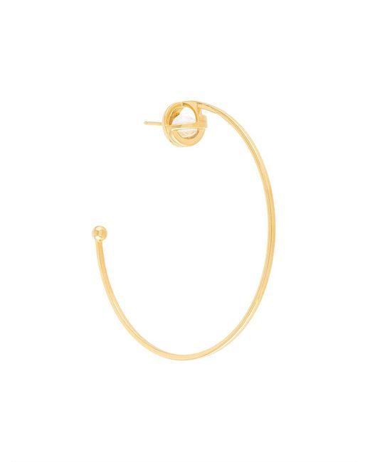 Lara Bohinc - Metallic Planetaria Hoop Earrings - Lyst