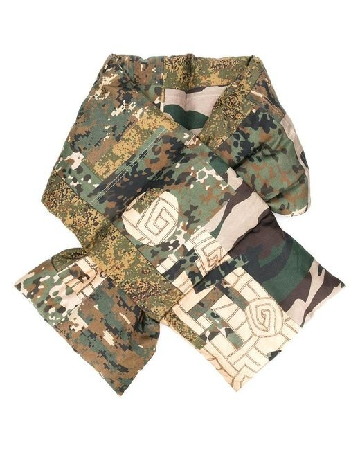 Pierre Louis Mascia - Green Padded Camouflage Scarf - Lyst
