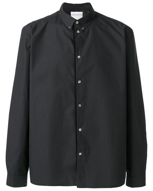 Stephan Schneider | Gray Plain Shirt for Men | Lyst