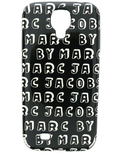 Marc By Marc Jacobs - Black Logo Print Samsung Galaxy S4 Case - Lyst