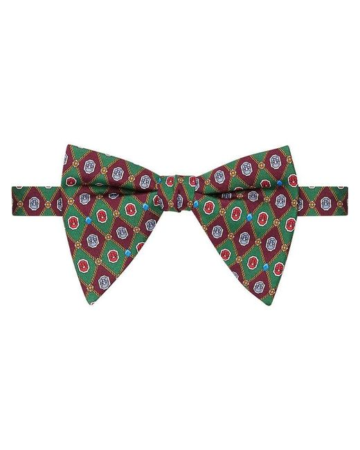 Gucci - Green Pajarita de Seda for Men - Lyst