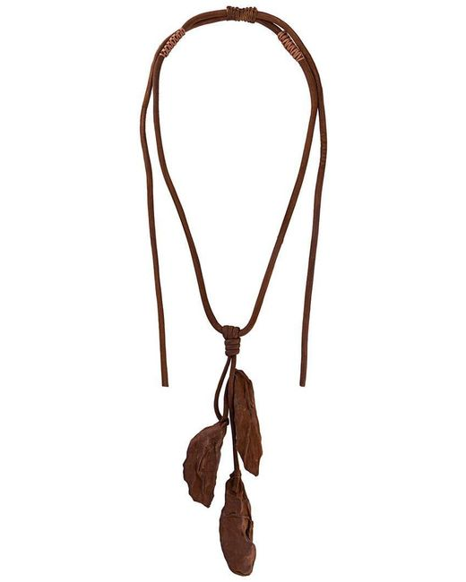 Max Mara - Brown Aquile Necklace - Lyst