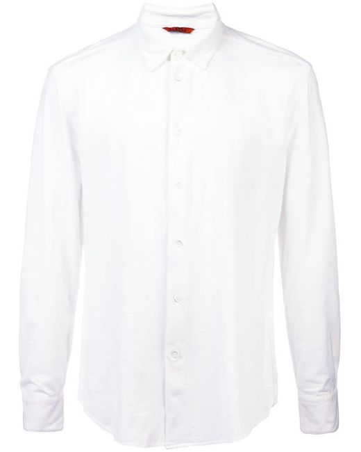 Barena - White Coppi Tamiso Shirt for Men - Lyst