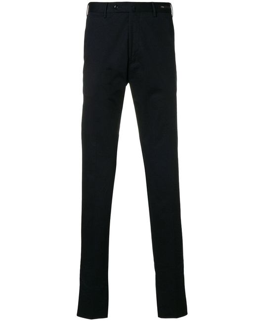 PT01 - Blue Tailored Trousers for Men - Lyst