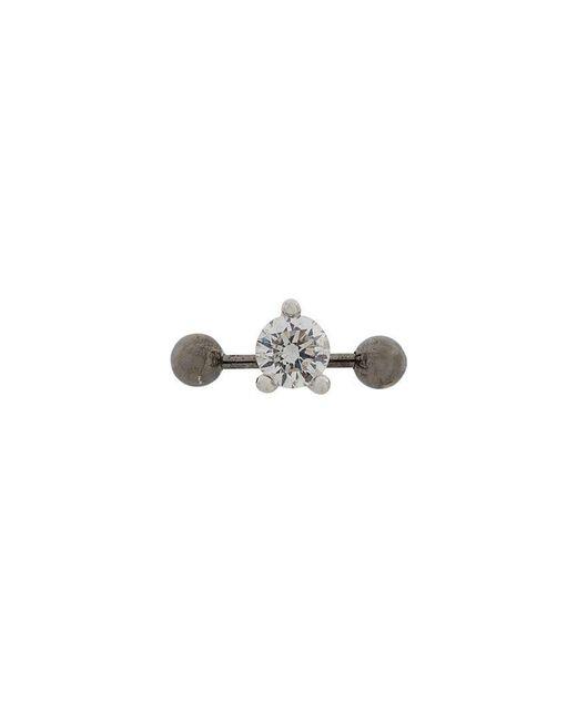 Delfina Delettrez - Metallic 18kt Weißgoldohrstecker mit Diamanten for Men - Lyst
