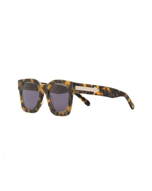 bd060147cbd ... Karen Walker - Gray Pablo Sunglasses - Lyst ...