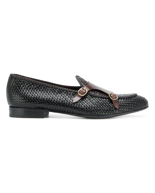Lidfort buckle detail loafers