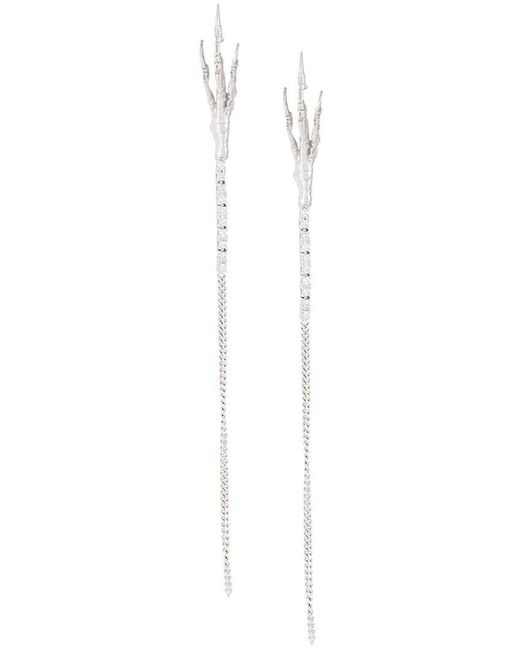 Wouters & Hendrix - Metallic 'crow's Claw' Diamond Earrings - Lyst