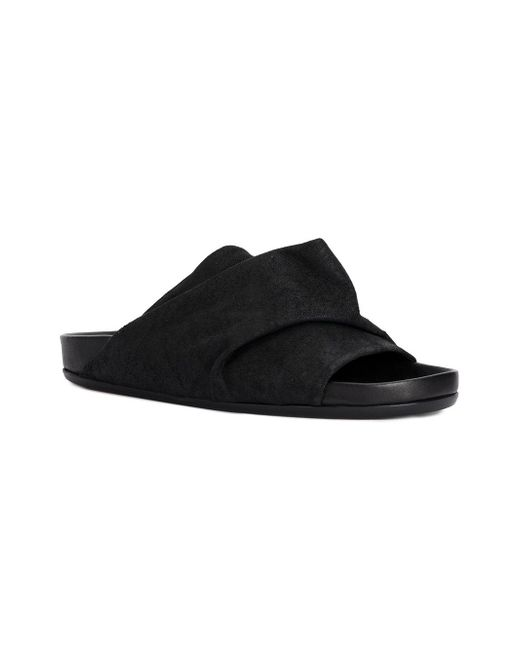 Rick Owens Wrapped slider sandals