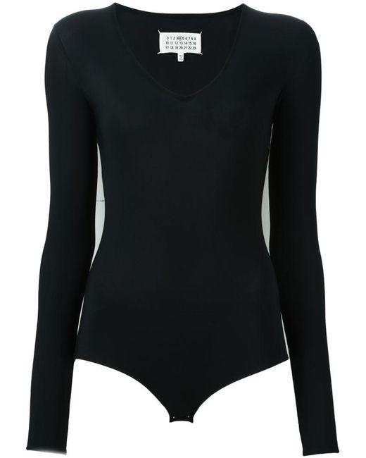 Maison Margiela - Black Long Sleeved Body - Lyst