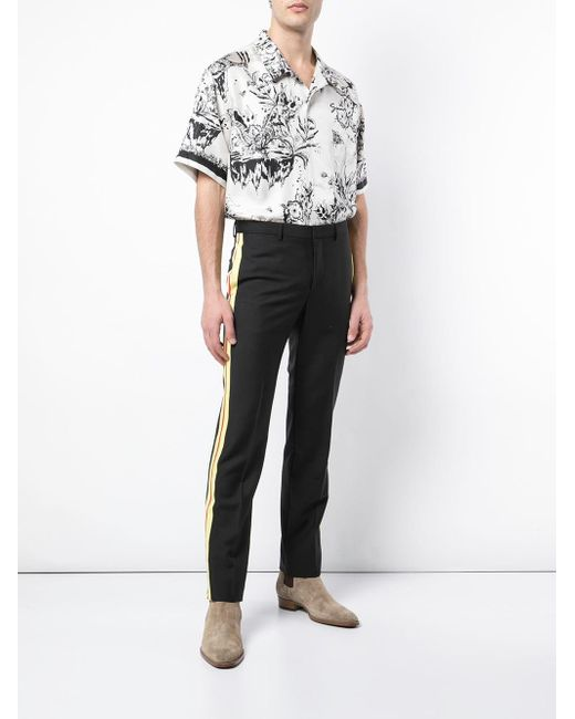 902d24d0 ... Givenchy - White Monster Print Hawaiian Shirt for Men - Lyst ...