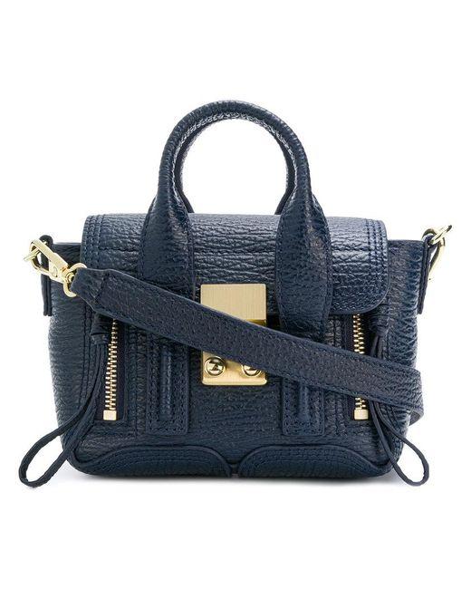 3.1 Phillip Lim - Blue Zip-detail Medium Crossbody Bag - Lyst