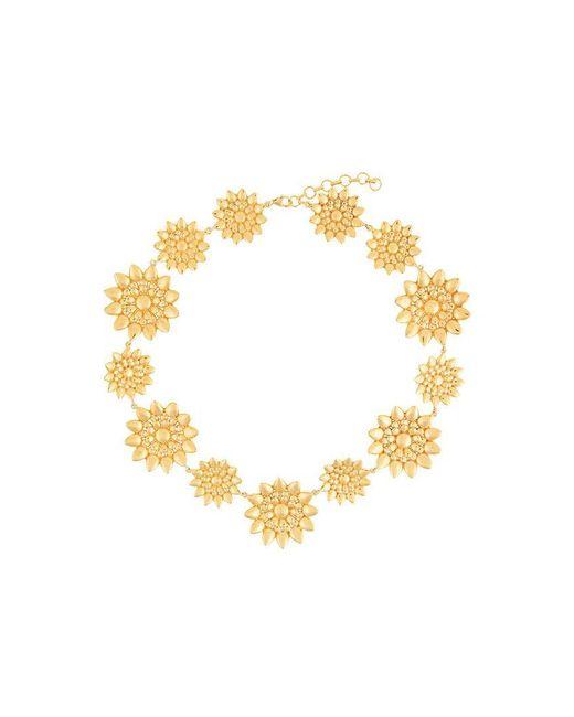 Ileana Makri - Metallic Flower Necklace - Lyst