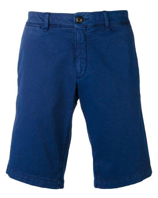 Moncler - Blue Bermuda Chino Shorts for Men - Lyst