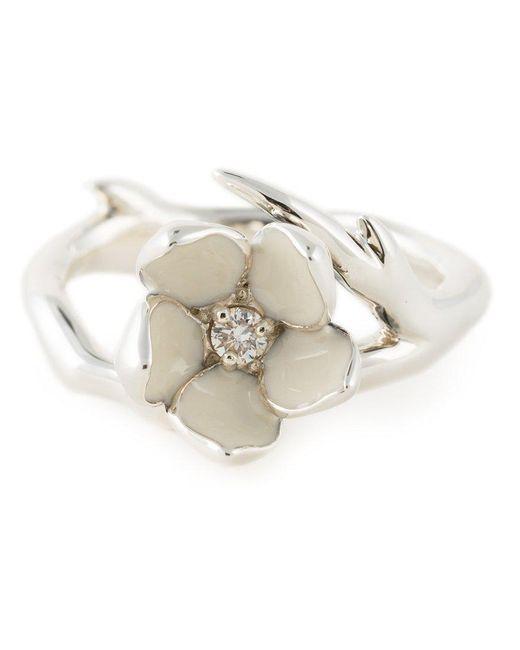 Shaun Leane - Metallic 'cherry Blossom' Diamond Ring - Lyst