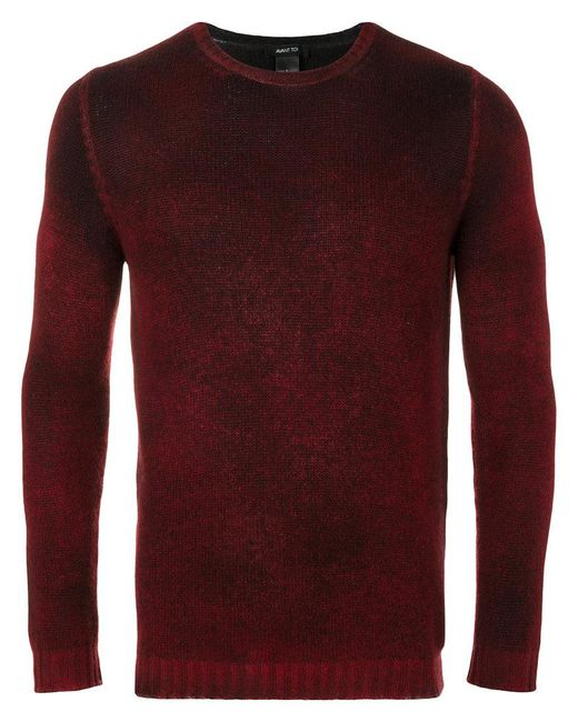 Avant Toi | Red Ribbed Sweater for Men | Lyst