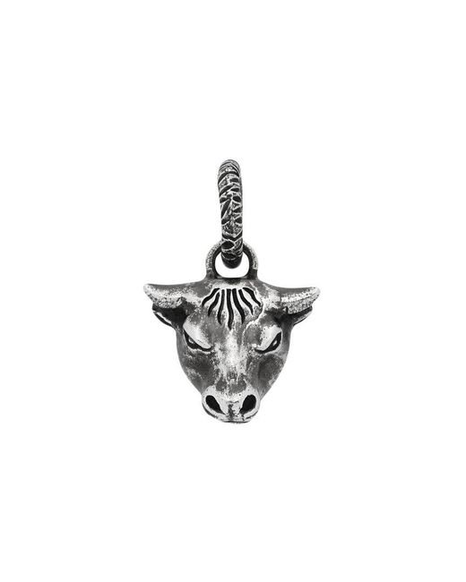 Gucci - Metallic Anger Forest Bull's Head Charm for Men - Lyst