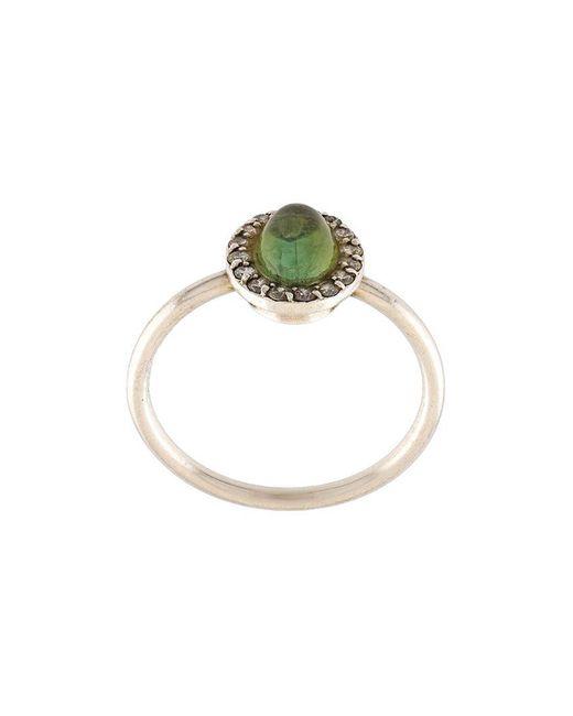 Marlo Laz | Green 'retina' Ring | Lyst