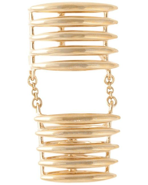 Shaun Leane - Metallic 'quill' Finger Ring - Lyst