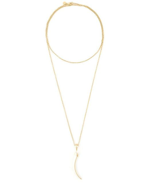 Shaun Leane | Metallic 'knife Edge' Long Necklace | Lyst