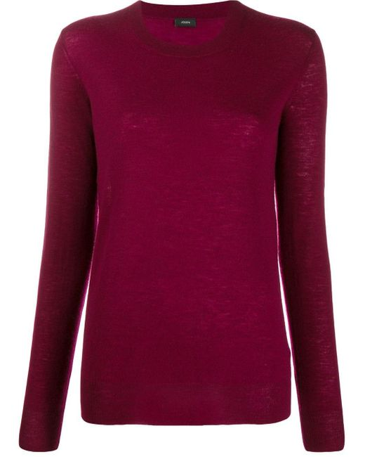 Joseph Red Cashmere Jumper