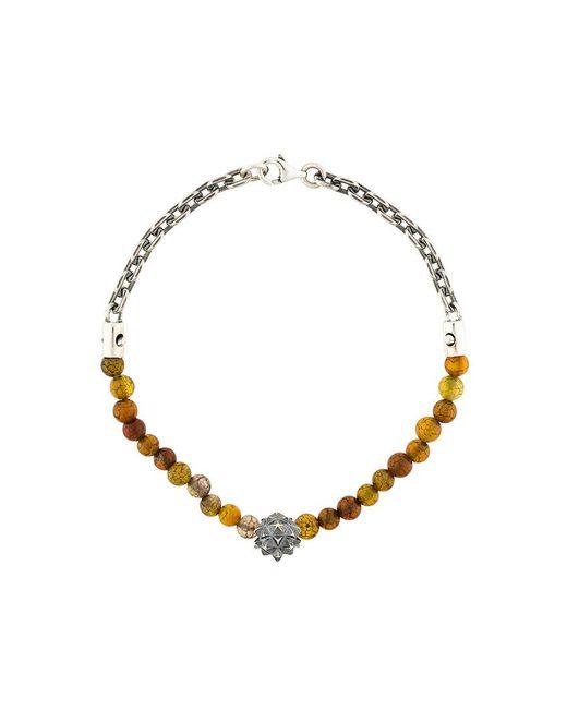 Northskull - Metallic Beaded Bracelet - Lyst