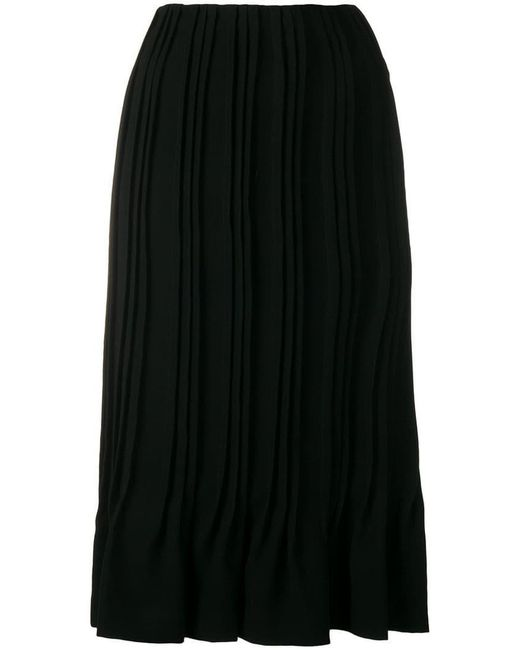Marco De Vincenzo - Black Pleated Skirt - Lyst