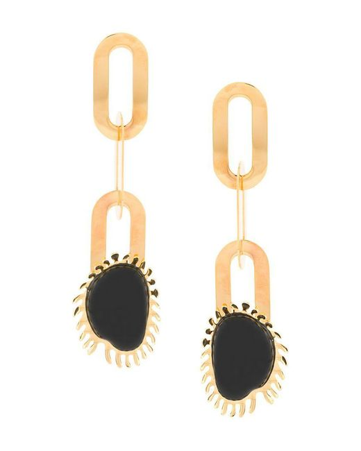 Marni - Metallic Geometric Drop Earrings - Lyst