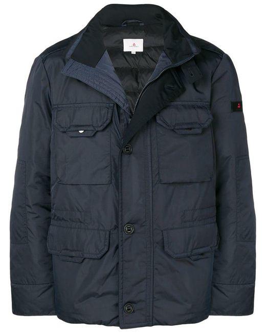 Peuterey - Blue Short Padded Jacket for Men - Lyst