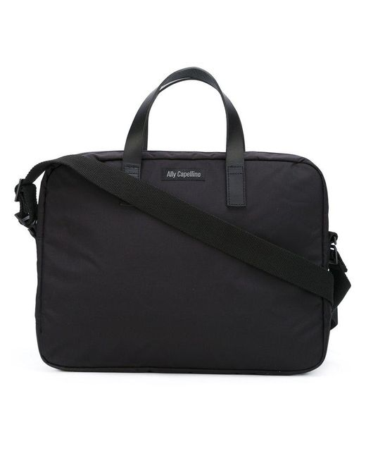 Ally Capellino - Black 'mansell' Briefcase for Men - Lyst