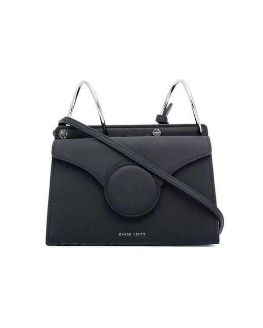 Danse Lente - Blue Black Phoebe Mini Leather Shoulder Bag - Lyst