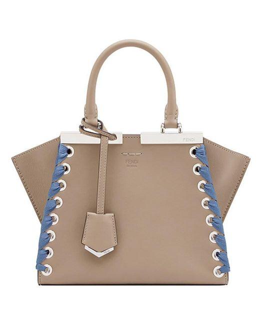 Fendi - Multicolor Mini 3jours Tote Bag - Lyst