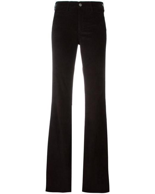 MiH Jeans - Black Flared Trousers - Lyst