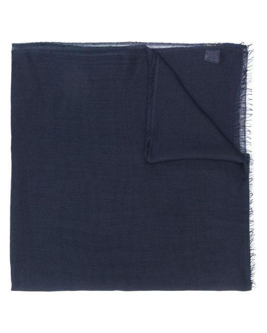 Faliero Sarti - Blue Frayed Scarf - Lyst