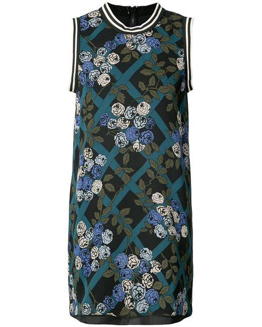 Anna Sui | Black Rose Print Dresss | Lyst
