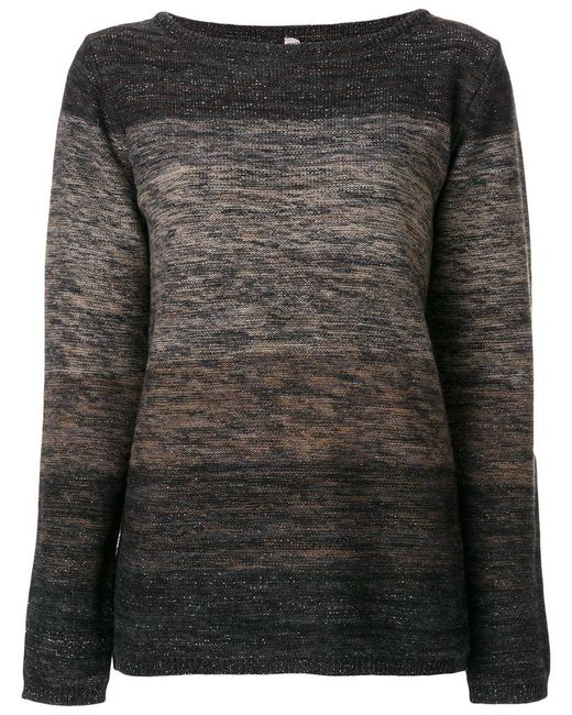 Antonio Marras - Brown Striped Jumper - Lyst